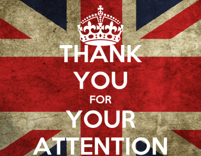 THANK YOU FOR YOUR ATTENTION Poster | yomerowashere | Keep Calm-o-Matic