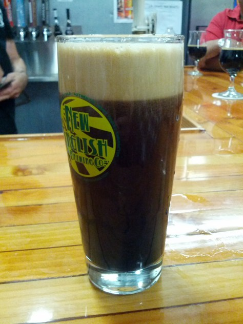 Zumbar coffee chocolate imperial stout on cask.