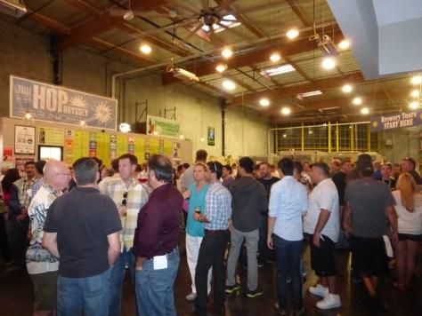 Friday crowd at Green Flash.