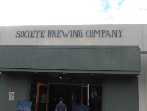 Societe Brewing Company from outside.