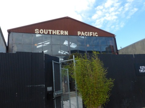 View of the brewery from outside.