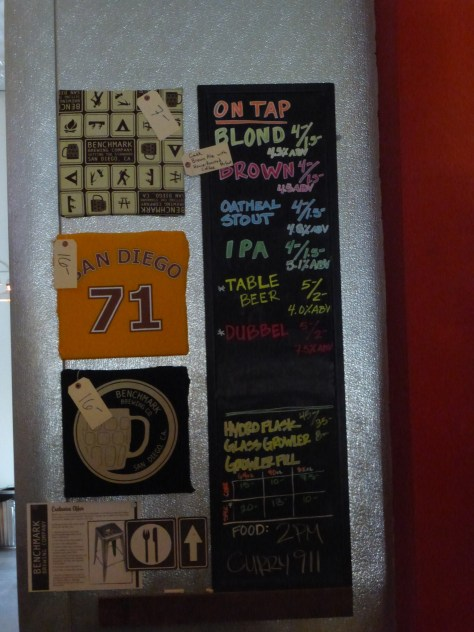 Beers on tap as of 1/4/2014.