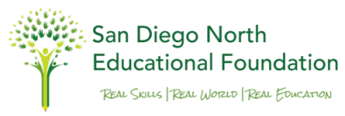 San Diego North Educational Foundation Logo
