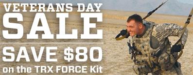 TRX Coupon Veterans Day