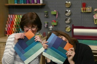 Being silly at Craftsy!