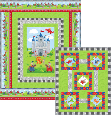 Knights At Play Quilt Patterns by Kate Colleran