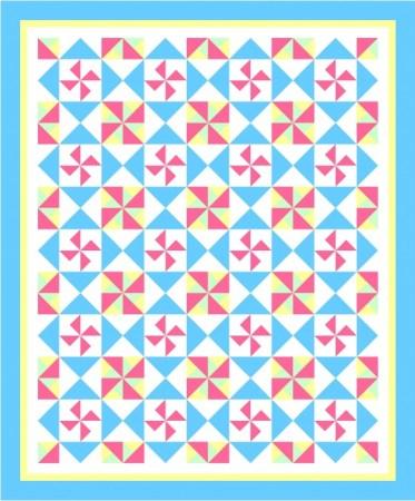 Pinwheels Galore Quilt