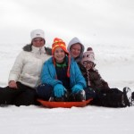 Snow Day Sledding!