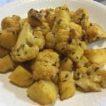 【レシピ】インドの定番メニュー「アルゴビ」(じゃがいもとカリフラワーのカレー)