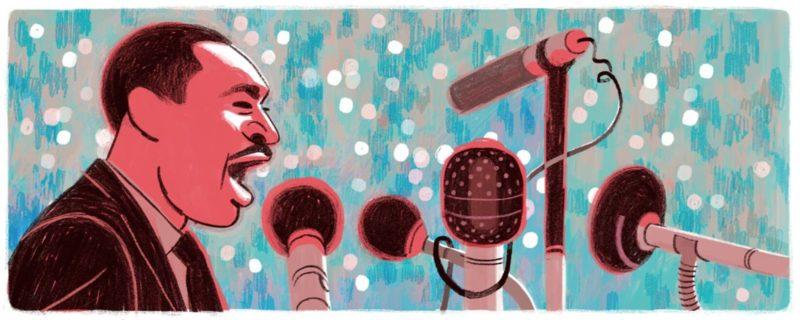 MLK Day doodle 2016