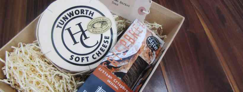 The Cheese Market - Tunworth, a Camembert-like British cheese