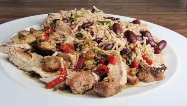Gousto Meal Kit Jerk Chicken