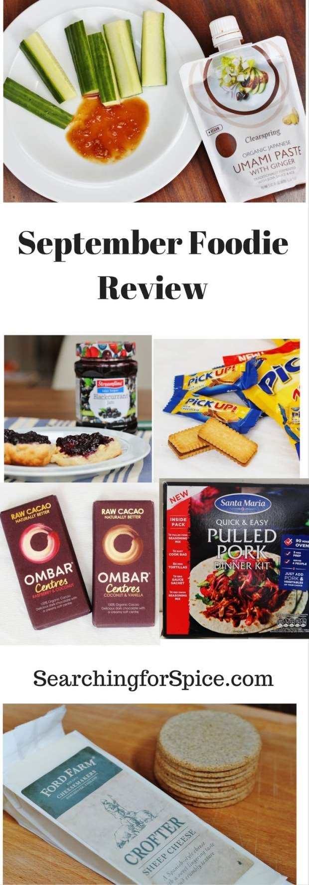 September Foodie Review