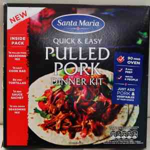 Santa Maria Pulled Pork Dinner Kit