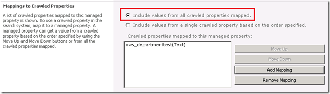 Working with FAST Search for SharePoint and Multivalued Properties (3/5)