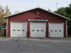 Volunteer Fire Station in Washington, Maine