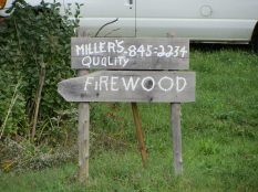 Firewood for sale in Washington, Maine
