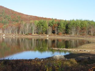Mirror Lake in Rockport, Maine