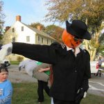 This scarecrow was the Michael Jackson entry. What a Thriller!!