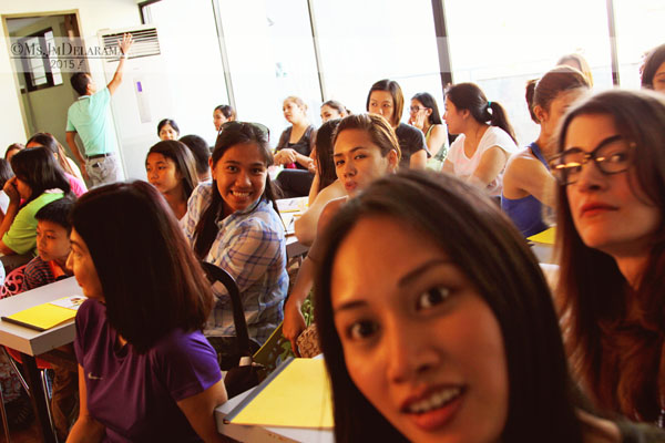 """My """"GROUFIE"""" at the event. Grateful for the packed room!"""