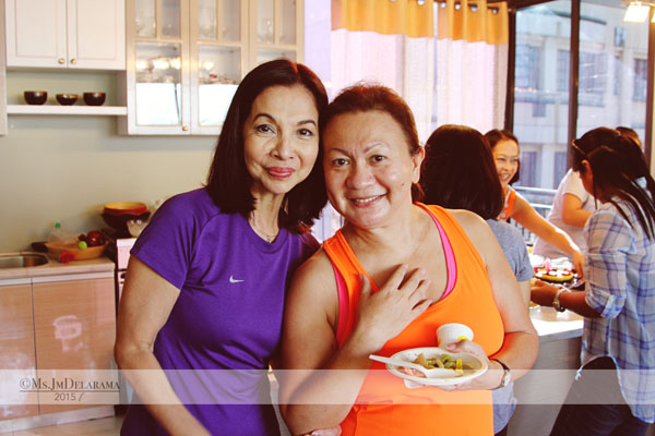 Blessed to have these two Mommies around - Mammosh & Mommy Ninang. Both are blessings!
