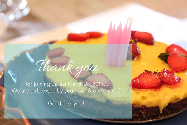 superfoods cake birthday celebration