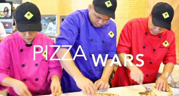 CPK Philippines Pizza War Chefs