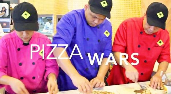 CPK Philippines Pizza War Chefs