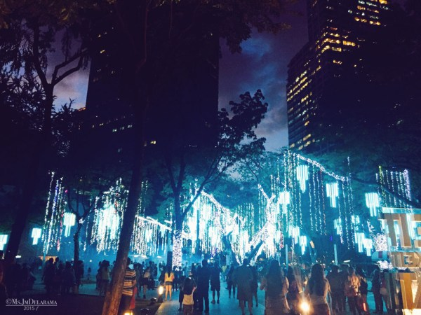 Holiday at Ayala Triangle in Makati