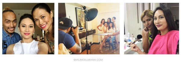 philippines makeup artist models photo shoot