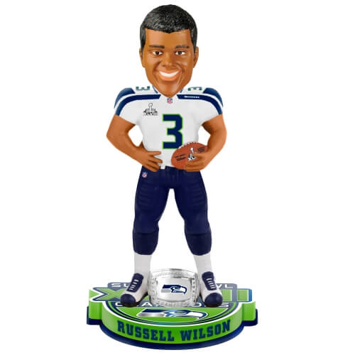 Seattle Seahawks Super Bowl XLVIII Champions Bobbleheads
