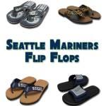 Seattle Mariners Flip Flops