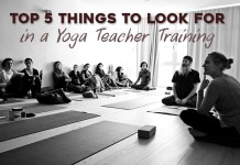 5 things to look for in yoga teacher training