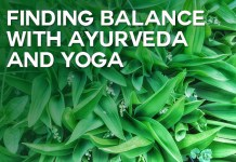 finding balance with ayurveda and yoga