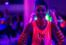 soul pose seattle 2016 blacklight yoga party