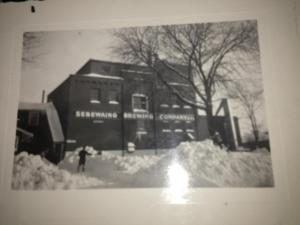 Front of Brewery circa 1940-50