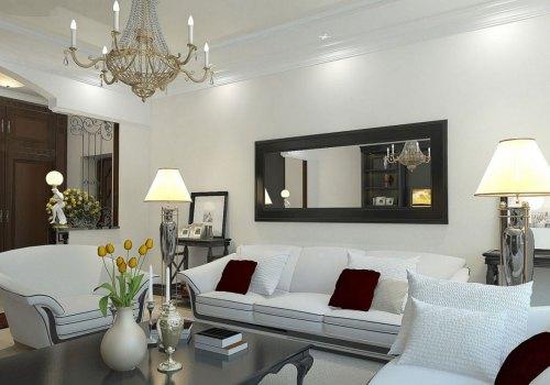 Medium Of Mirror Living Room Ideas