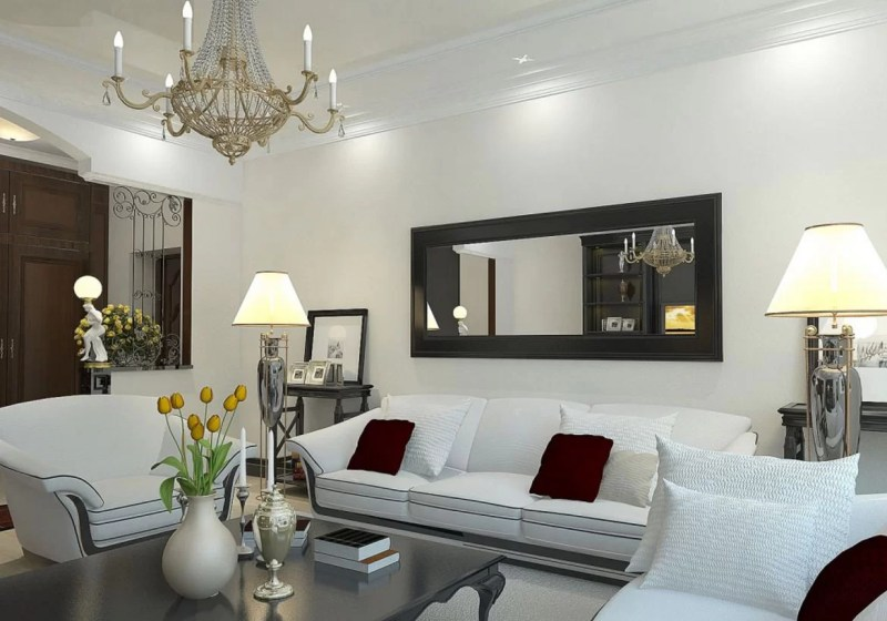 Large Of Mirror Living Room Ideas