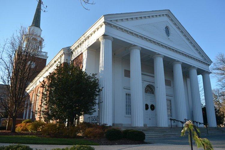 Exterior photo of Second Presbyterian Church