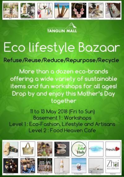 Event - Eco Lifestyle Bazaar May Singapore 2018 - Secondsguru