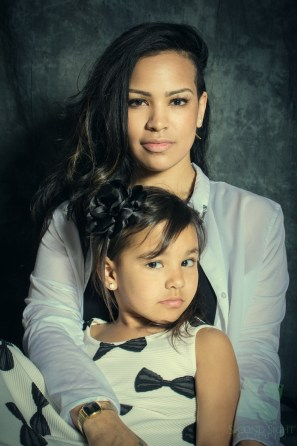 Astaire and Ariyah came by for a beautiful Mother/Daughter portrait!