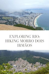 Exploring Rio de Janeiro: Hiking Morro dois irmaos