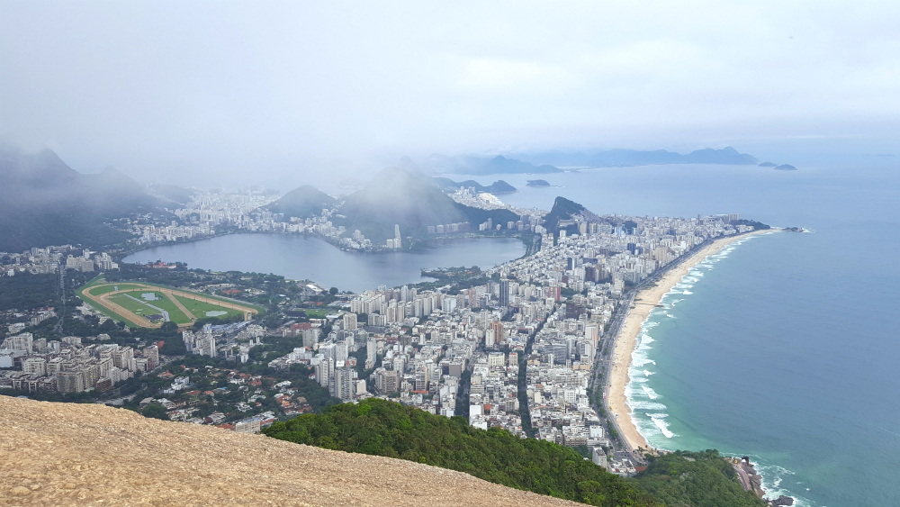 View from Morro Dois Irmãos