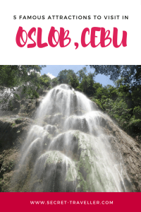 Visiting the Philippines? Here are 5 famous attractions to visit in Oslob (Cebu).