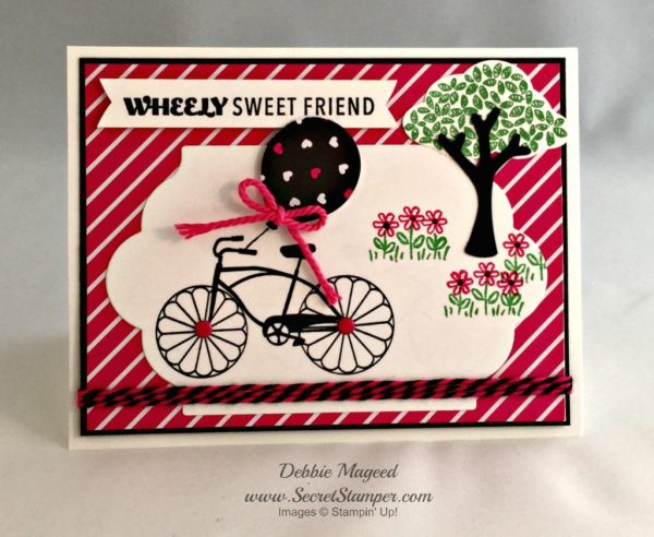 Cycle, Celebration, Sprinkles of Life, Summer, Bicycle, Stampin Up