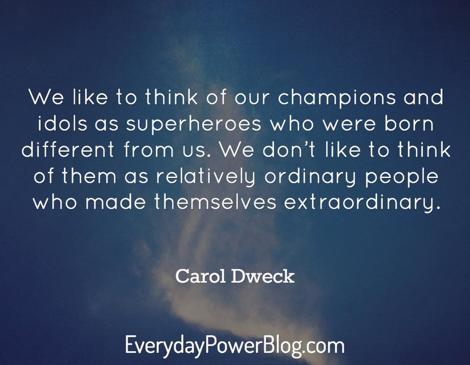 Relatively ordinary people who made themselves extraordinary...