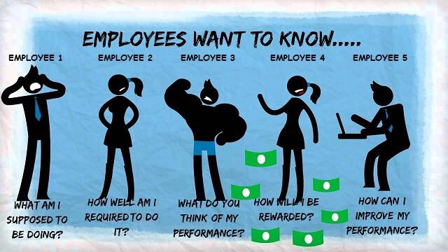employees want to know 5 graphics