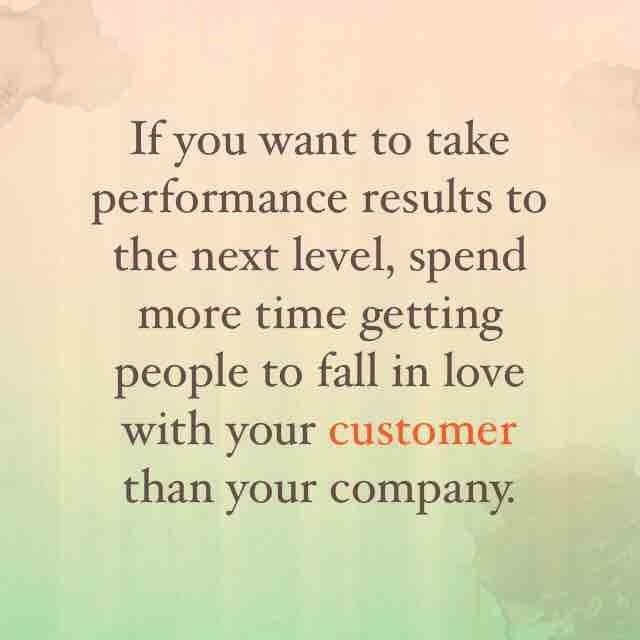 If you want to take performance results to the next level spend more time