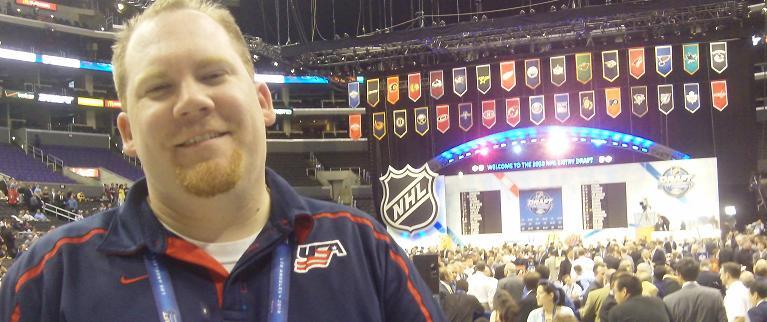 NHL Draft - Jer at the Draft (banner)