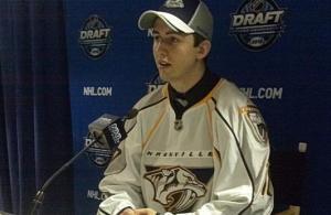 NHL Draft - Taylor Aronson